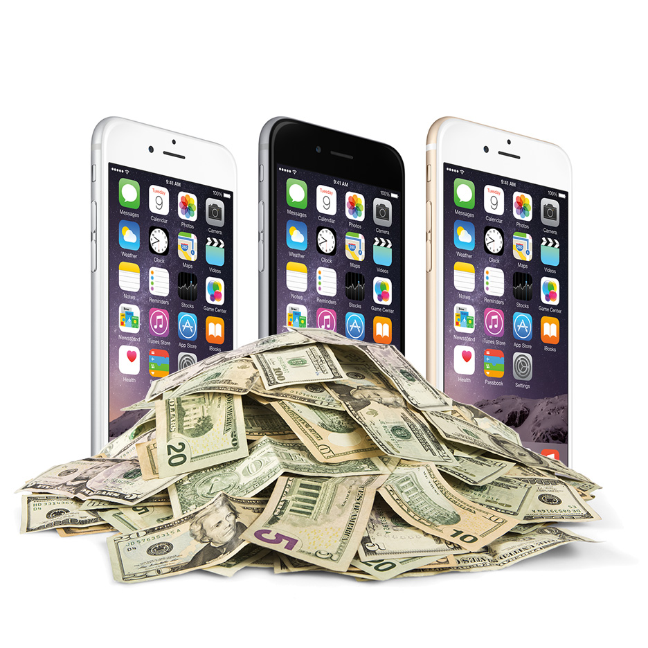 iphone money