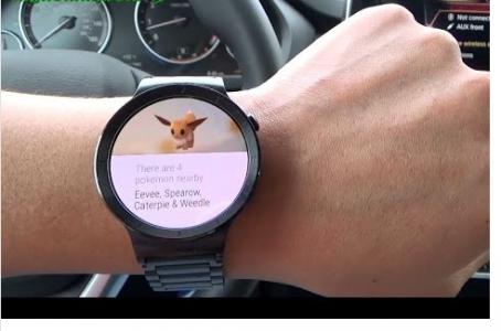 android wear 454x300 - Pokémon Go prochainement sur Android Wear ?