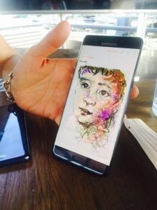 dessin 1 note 7 225x300 - [Prise en main] Le Galaxy Note 7 aurait pu être le smartphone de l'année
