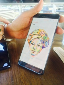 dessin 2 note 7 225x300 - [Prise en main] Le Galaxy Note 7 aurait pu être le smartphone de l'année