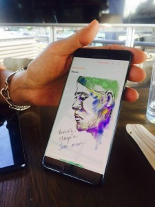 dessin 3 note 7 225x300 - [Prise en main] Le Galaxy Note 7 aurait pu être le smartphone de l'année