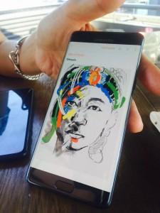 dessin 4 225x300 - [Prise en main] Le Galaxy Note 7 aurait pu être le smartphone de l'année