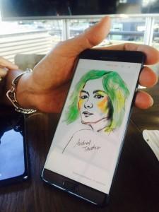 dessin 5 note 7 225x300 - [Prise en main] Le Galaxy Note 7 aurait pu être le smartphone de l'année