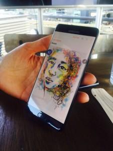 dessin note 7 225x300 - [Prise en main] Le Galaxy Note 7 aurait pu être le smartphone de l'année