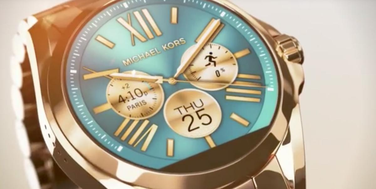 la marque de luxe michael kors lance ses montres connect es meilleur mobile. Black Bedroom Furniture Sets. Home Design Ideas