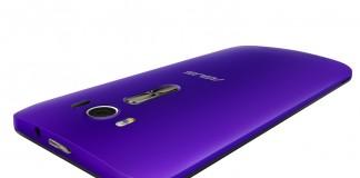 smartphone violet