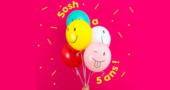 [BON PLAN] Forfait Sosh 20 Go à seulement 9,99 euros pendant un an !