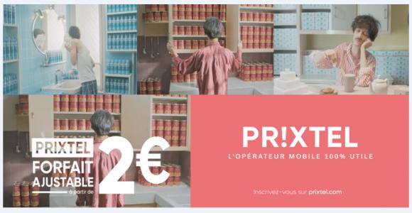 Prixtel lance une nouvelle campagne publicitaire pour son forfait ajustable !