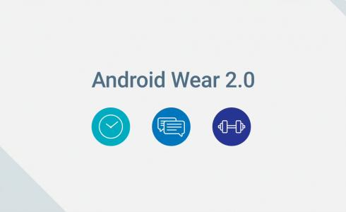 Android Wear 2.0 arrive en février!