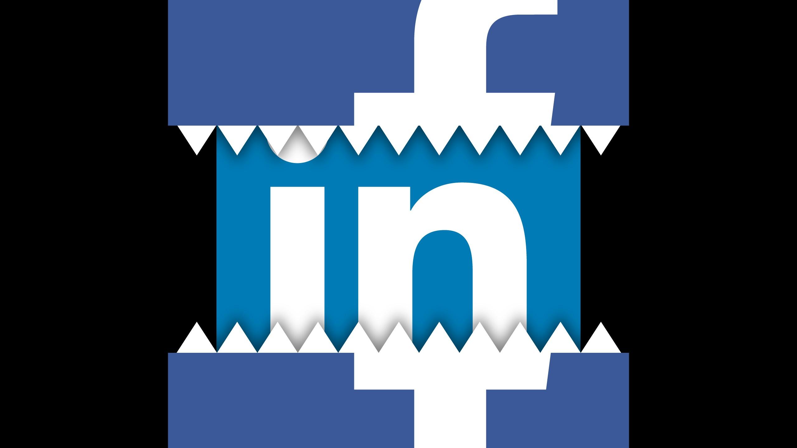 Facebook dévore Linkedln