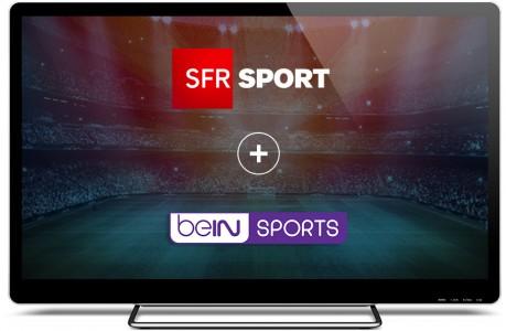 L'offre SFR SPORT + beIN SPORTS à 19,99¤/mois est disponible !