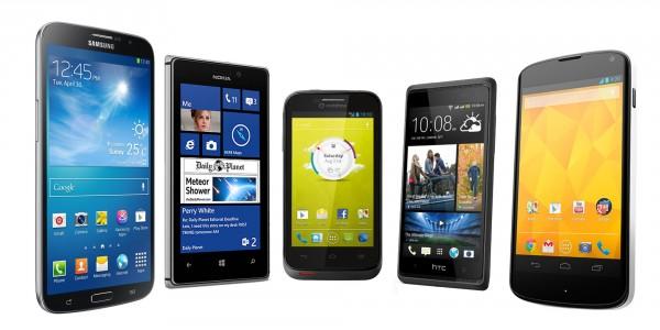 Comparatif des meilleurs smartphones avec un forfait Auchan Télécom