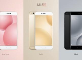 Xiaomi Mi 5C coloris