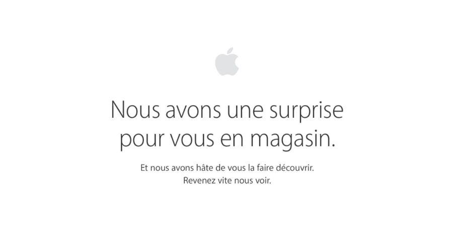 Apple Store surprise