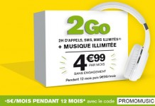 La Poste Mobile 2h 2Go 4.99 euros