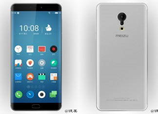 Meizu Pro 7 visuels fuite