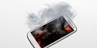 Smartphone autodestruction