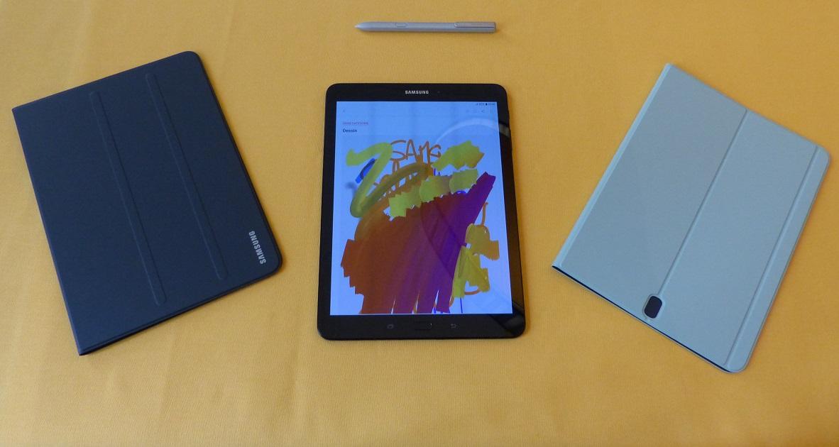 Samsung Galaxy Tab S3 + étuis