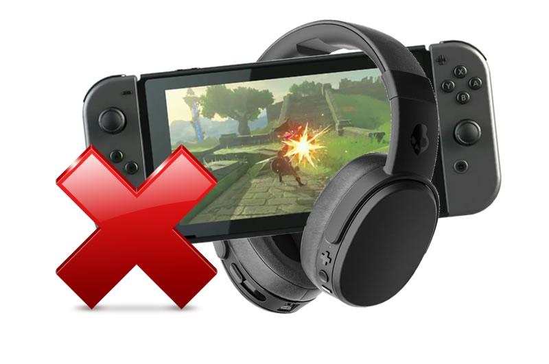 Nintendo Switch Oubliez Votre Casque Bluetooth