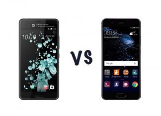 Comparatif HTC U Ultra vs Huawei P10