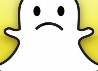 Snapchat triste