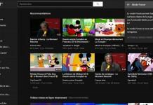 Youtube mode foncé