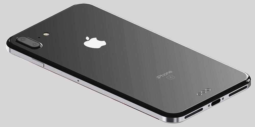 Un appareil photo à la verticale pour l'iPhone 8 ?