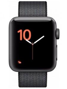 Apple Watch 2 Aluminium Gris Sidéral 38mm Bracelet Nylon Tissé