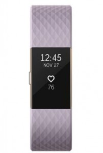 FitBit Charge 2 S Lavande et Or Ros