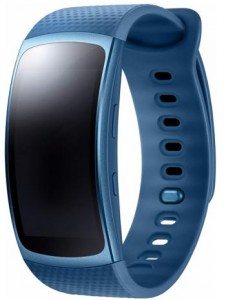 Samsung Gear Fit 2 S Bleu