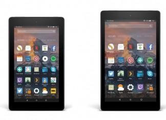 Amazon Fire 7 et Amazon Fire HD 8