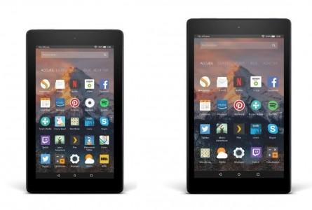 Amazon dévoile ses Fire 7 et Fire HD 8, des tablettes pas chères et efficaces
