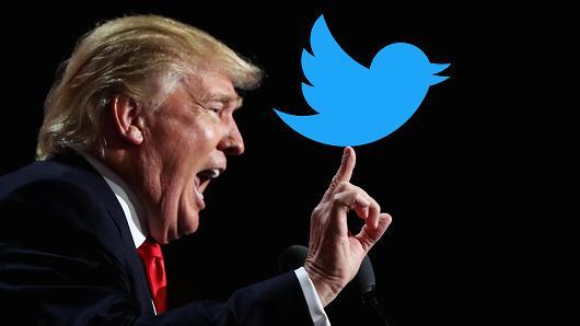 Donald Trump Twitter seule application de son iPhone