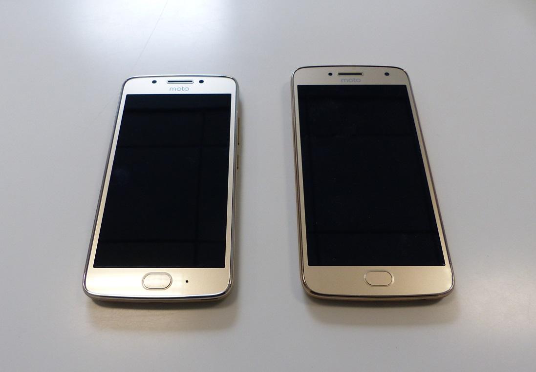 Test Lenovo Moto G5 Et Moto G5 Plus Des Smartphones