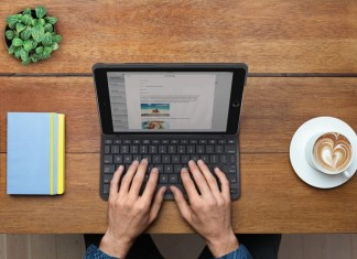 Protection clavier Logitech pour iPad 2017