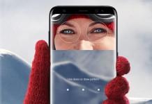 Samsung Galaxy S8 scanner d'iris