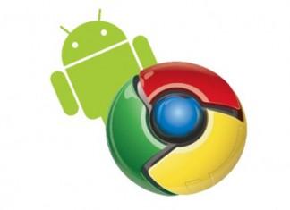 Google Chrome sur Android