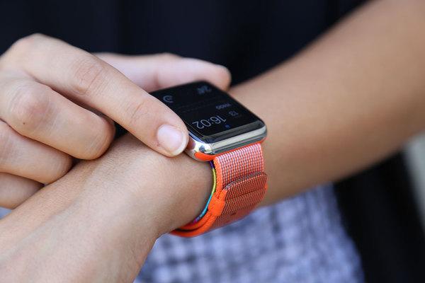 L'Apple Watch sauve de nouveau une vie