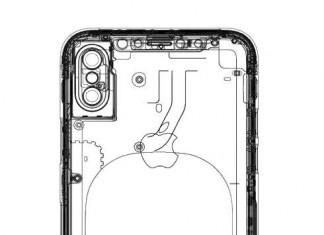 iPhone 8 schéma recharge sans fil