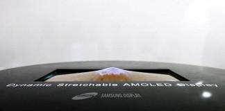 Samsung écran OLED étirable