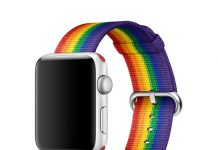 Apple Watch bracelet Pride Edition