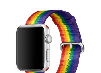 Apple Watch bracelet Pride Edition