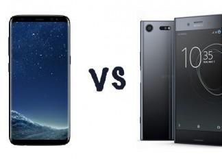 Comparatif Samsung Galaxy S8 vs Sony Xperia XZ image à la une