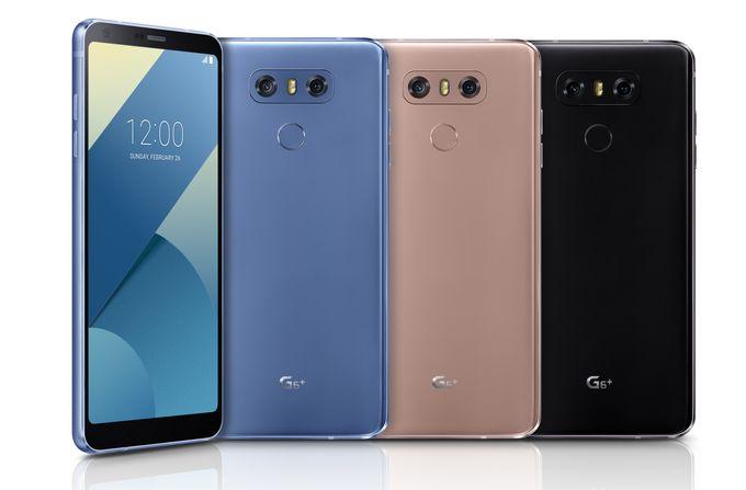LG G6 Plus Full Color Range 02 680 - LG annonce un G6+ avec 128 Go de stockage, de nouvelles couleurs et fonctionnalités