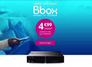 Série spéciale Bbox Bouygues Telecom