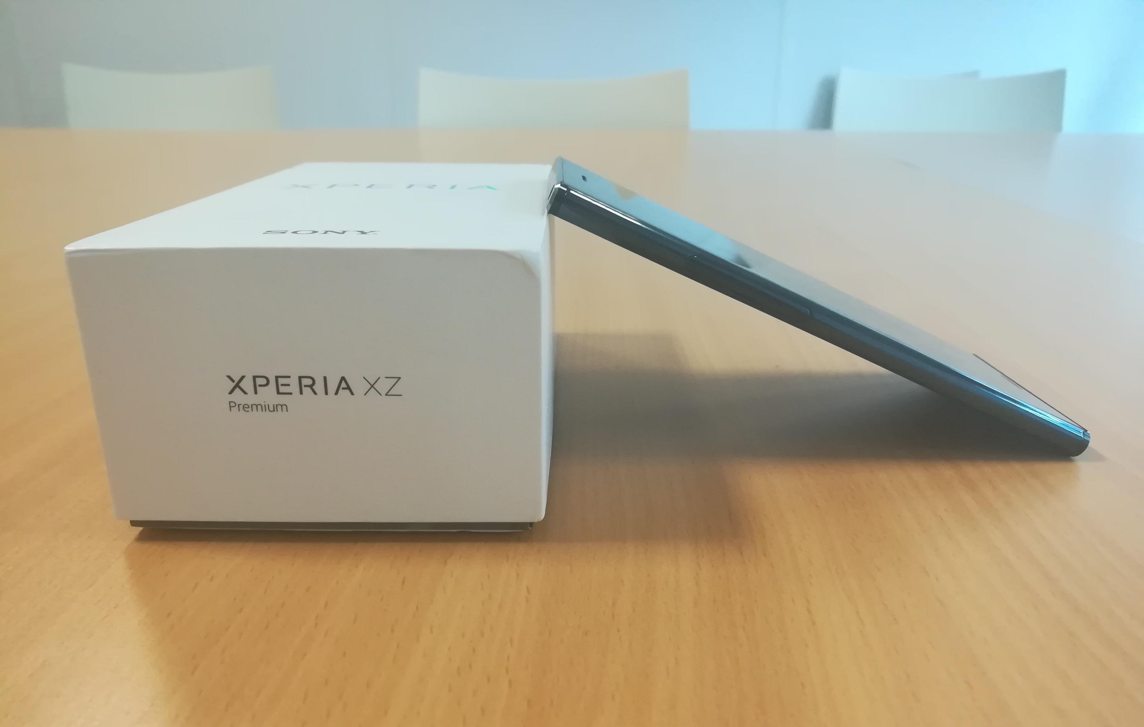 Sony Xperia XZ Premium test