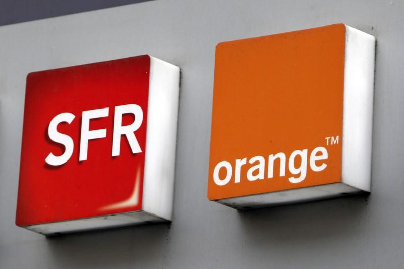 SFR Orange couverture 4G