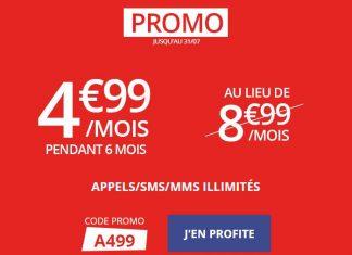 Auchan Telecom promo forfait illimité 20 Mo