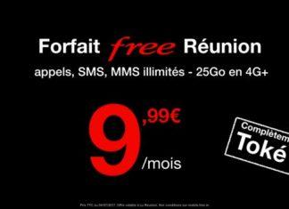Forfait Free Réunion