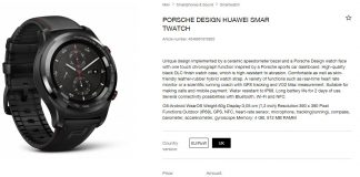 Huawei-Watch Porsche